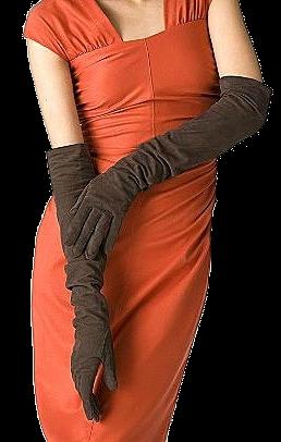 Женские перчатки длинные - Хорошая покупка