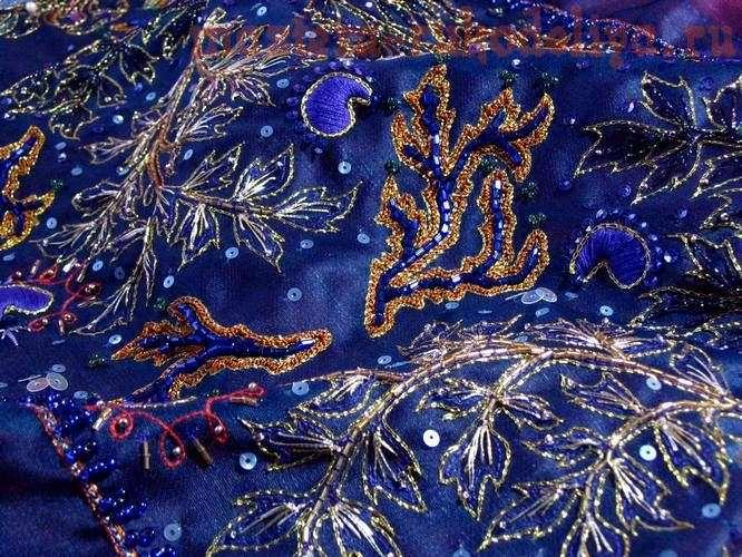 Мастер-класс: Тамбурная вышивка с бисером1 - Вышив.
