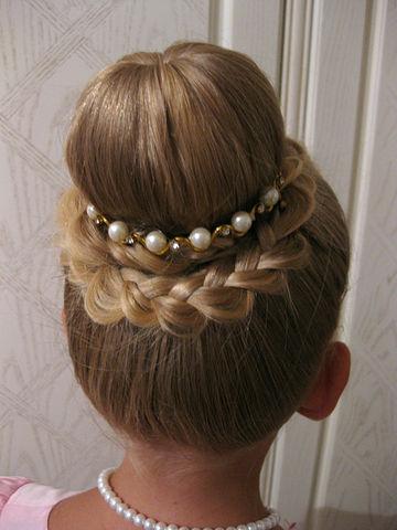 Красивые причёски для девочек 12 лет на свадьбу