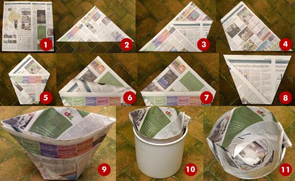 Пакеты из бумаги для мусора