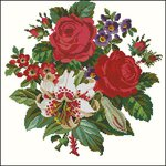 Превью Embroiderers Guild Berlin woolwork collection English Flowers-54-moi (410x410, 49Kb)