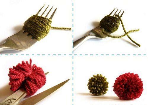 Как сделать своими руками бантики из ленточек