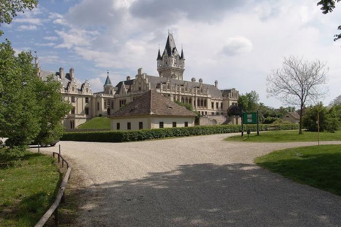 Замок Графенегг - романтичная драгоценность. 48369