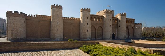 Замок Альхаферия (Castillo de Aljaferia) - жемчужинa испанского исламского наследия 98045