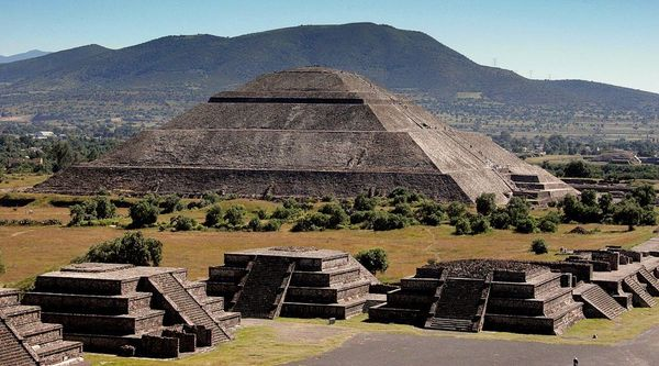 Теотиуакан Мехико Мексика