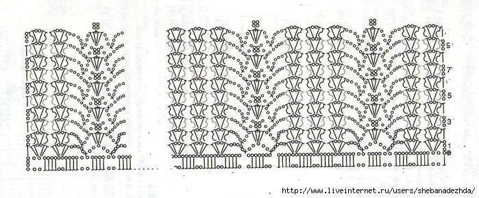 Основной мотив платья подол и рукава (700x289, 195Kb)