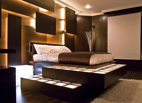 Interior design ideas for bedroom walls