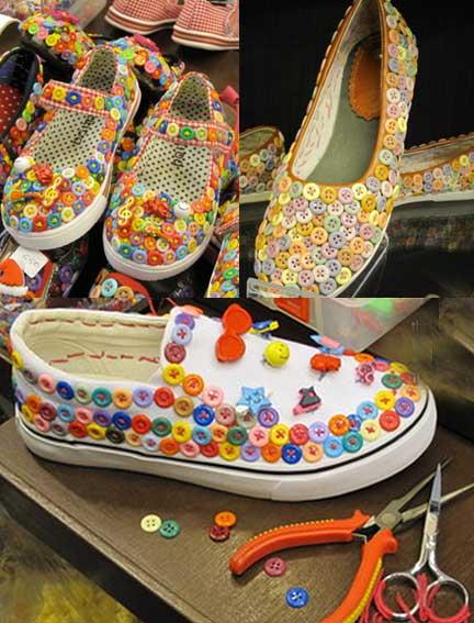 Мастер класс как украсить туфли своими руками