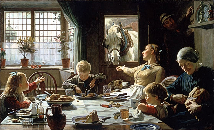 One of the Family, by Frederick George Cotman (700x424, 272Kb)
