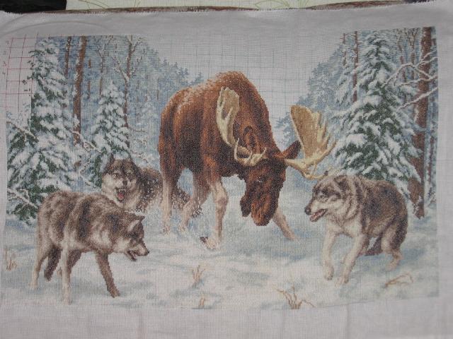 Часть 2 - Волк на охоте.