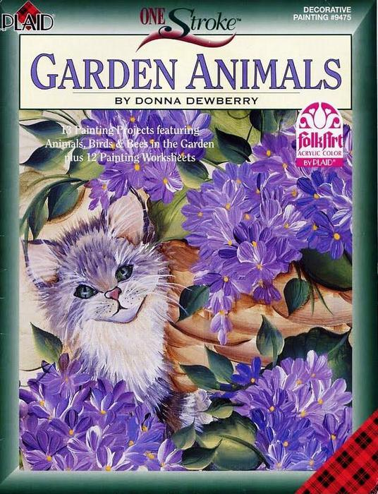 One Stroke Garden Animals_1 (536x700, 97Kb)