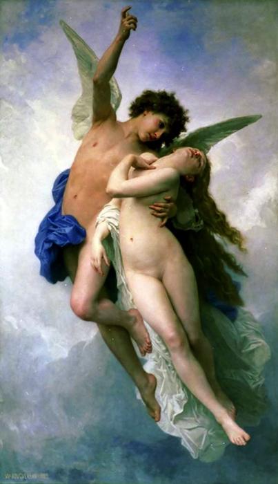 Амур и Психея (Адольф Вильям