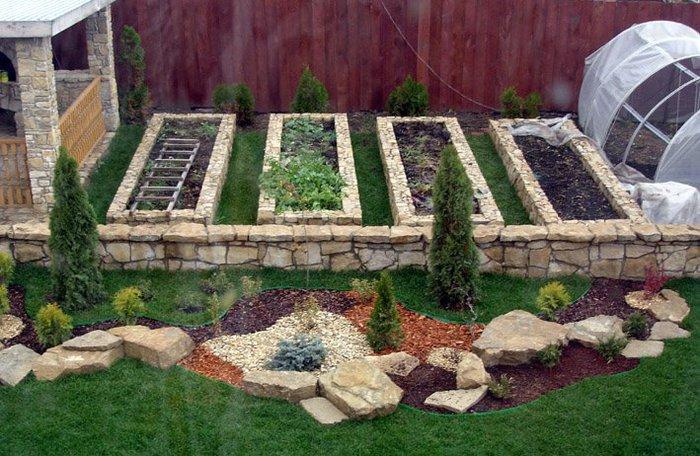Как сделать огород красивым своими руками фото