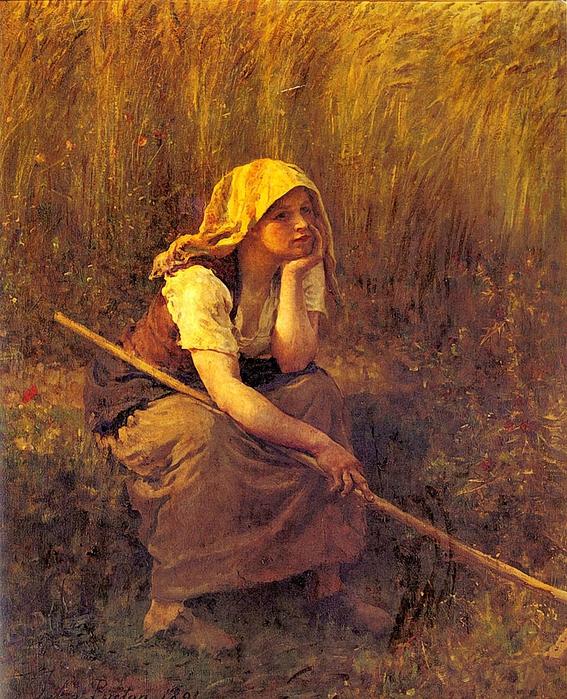 Summer 1891, by Jules Breton (567x700, 418Kb)