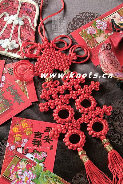 плетения китайских узлов