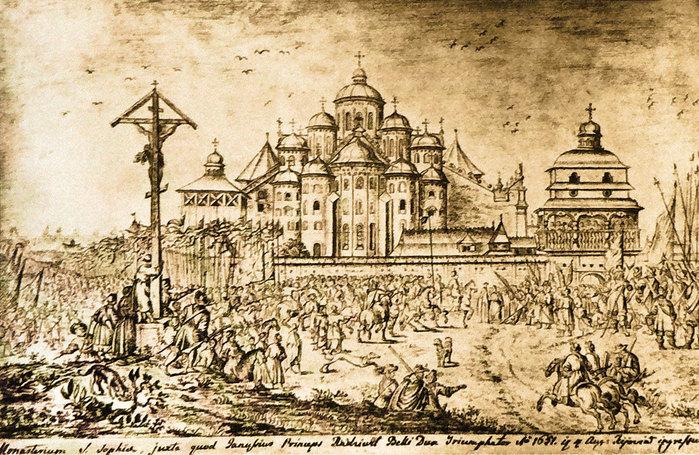 12 Собор св. Софії. Вигляд зі сходу (700x455, 170Kb)
