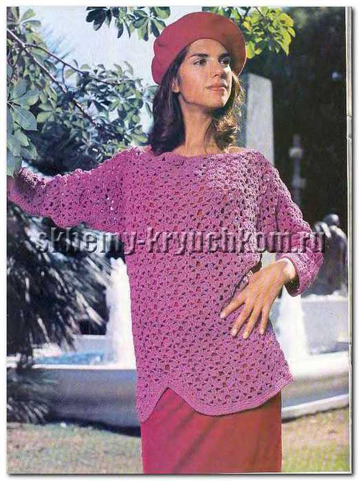 Пуловер-женский-0019 (522x700, 59Kb)