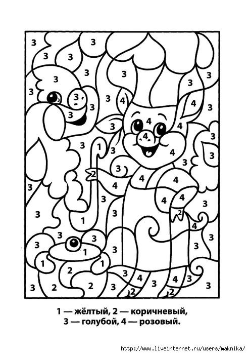 Картинки по клеточкам:
