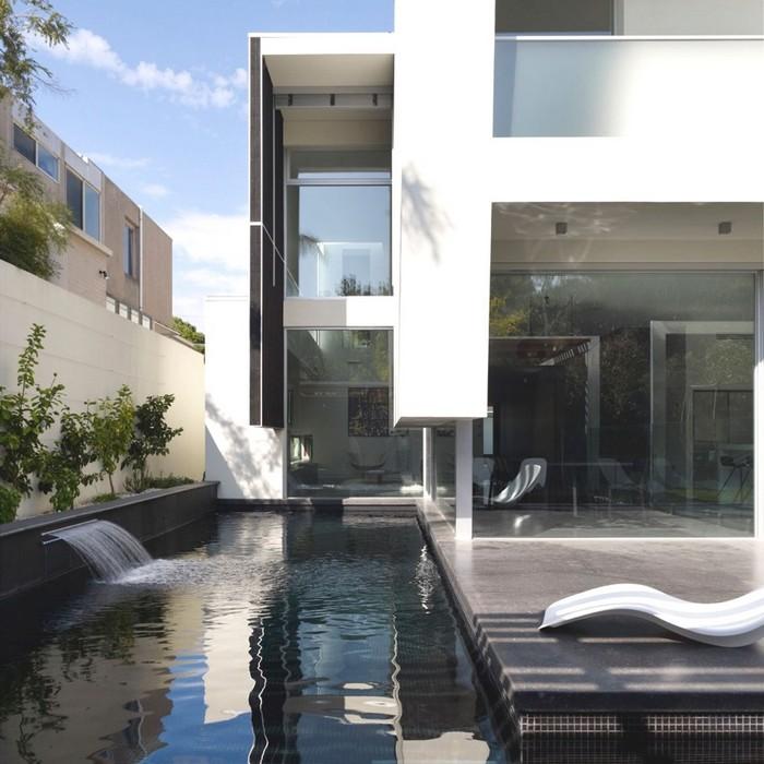 Австралийский частный дом в стиле минимализм 2 (700x700, 103Kb)