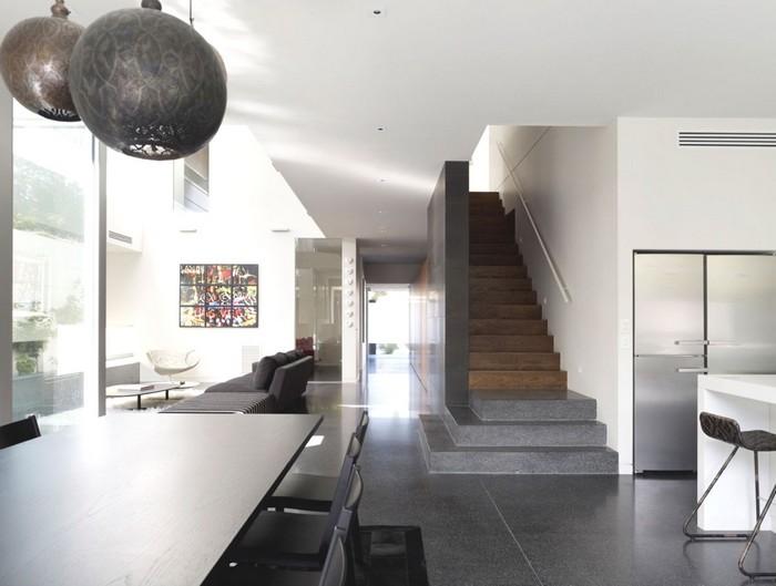 Австралийский частный дом в стиле минимализм 9 (700x529, 63Kb)