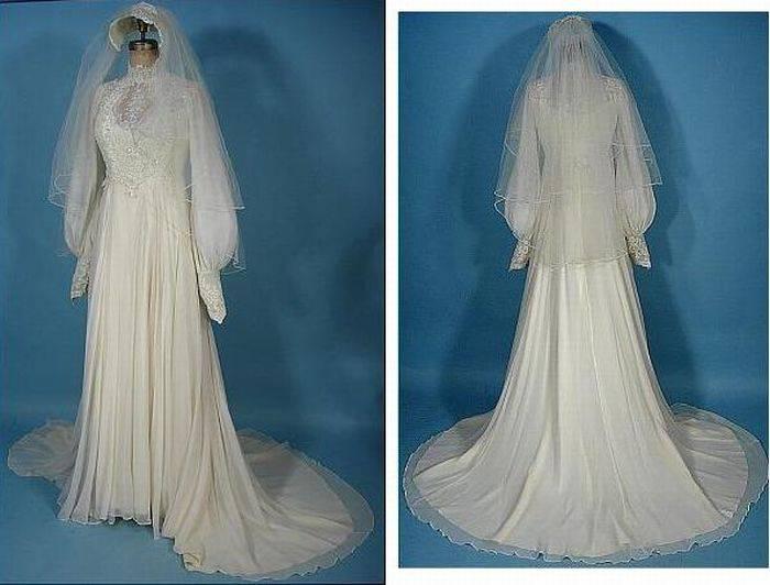 DataLife Engine Версия для печати Свадебные платья прошлого века (38 фото)