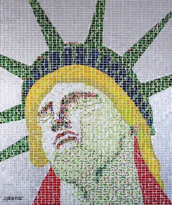 современная мозаика Jeff Ivanhoe фото 1 (589x700, 188Kb)