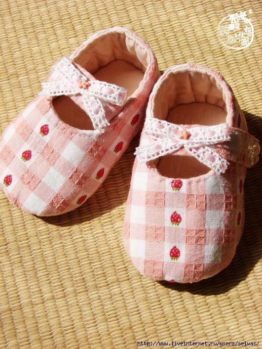Сшить туфельки для малышки 65