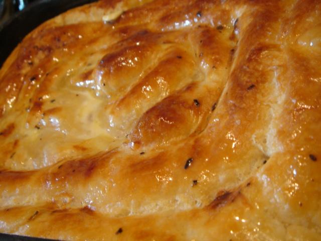 Слоеная улитка с сыром по турецки