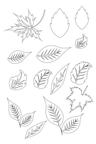 Шаблоны для изготовления цветочков из бумаги.  Прочитать целикомВ.