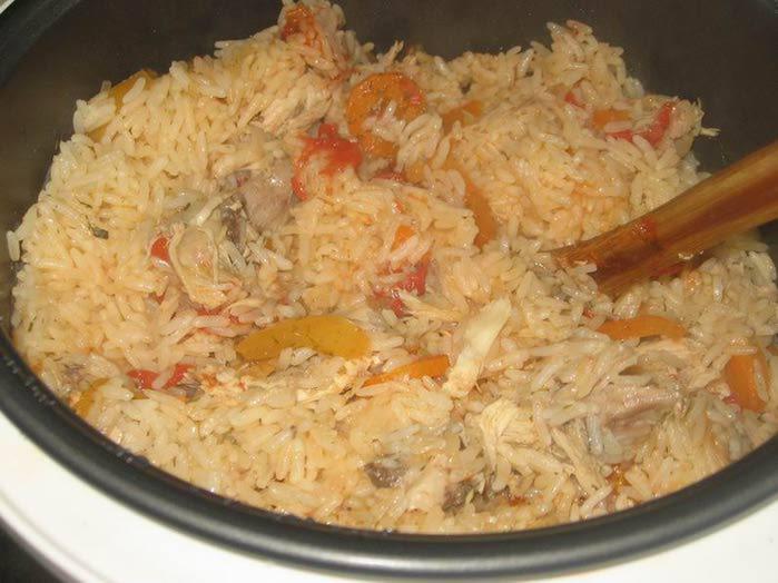 Рис с курицей в мультиварке рецепты с фото