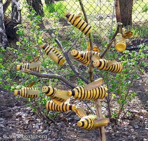 Фигуры для садового участка своими руками