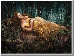 Волшебная сказка для спящей красавицы