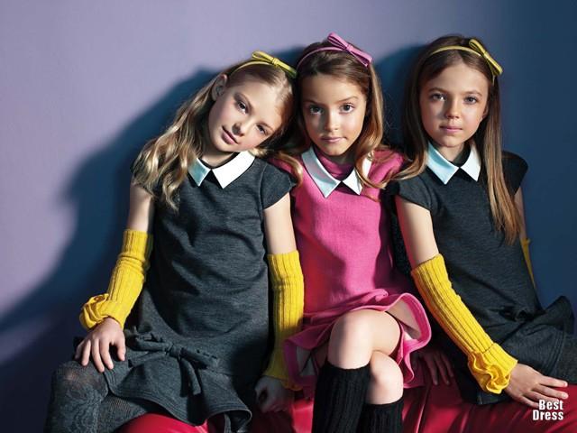 Детская мода платья для девочек 1