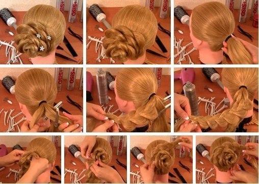 Огромное спасибо авторам работ!  Прически для длинных волос-2.