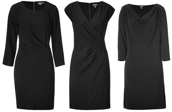 Какое платье сшить из черно 74