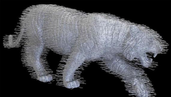 Скульптуры из проволоки3 (570x326, 115Kb)