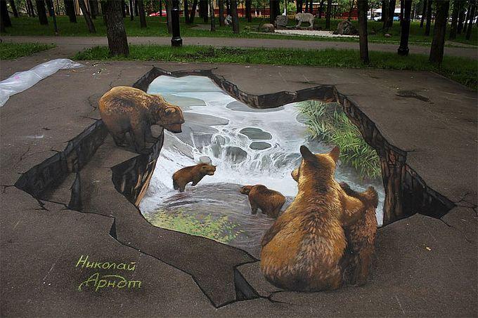 стрит арт граффити Николая Арндта (680x453, 76Kb)