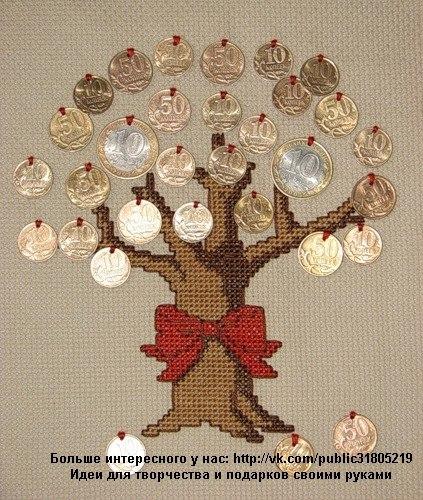 Денежное дерево скачать бесплатно схему вышивки крестом