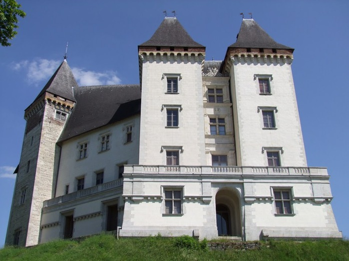 Замок По - Родовой замок Бурбонов 89589