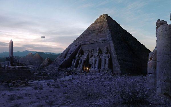 Абу-Симбел Нубия Египет