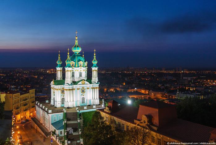 ночной Киев (700x471, 132Kb)