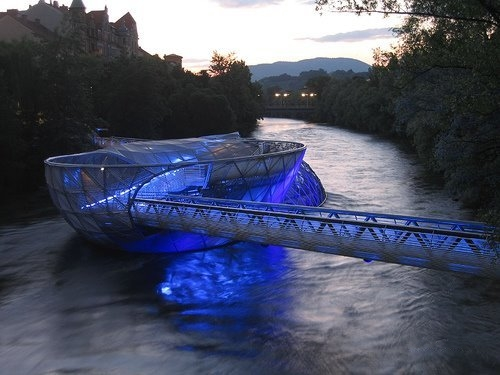 Aiola Island Bridge граце австрия 4 (500x375, 107Kb)