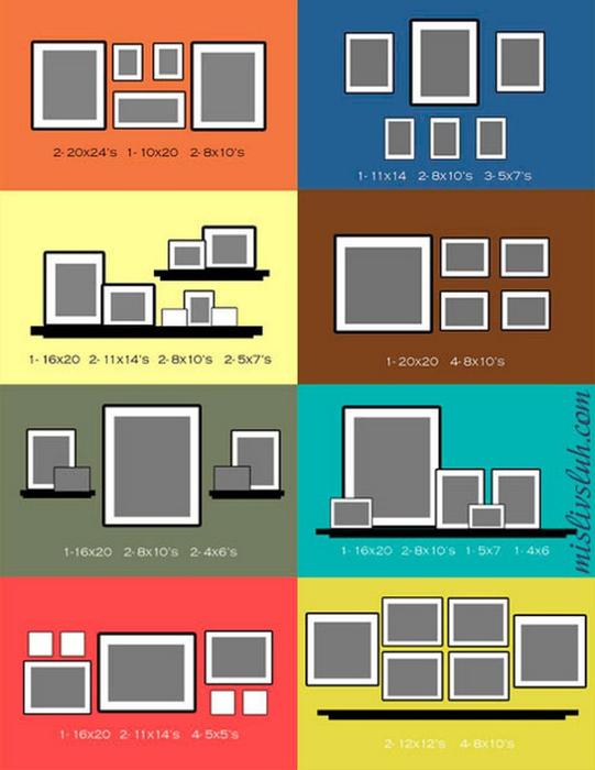 Как повесить картину или фотографию 27 (541x700, 227Kb)