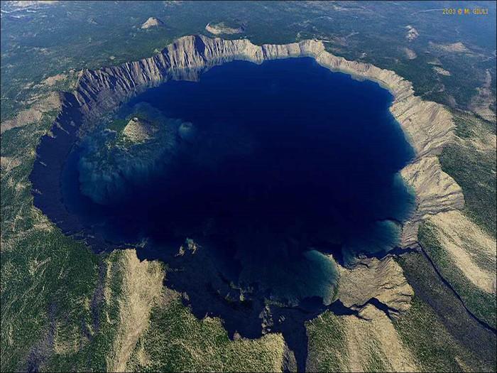 озеро крейтер Crater Lake фото (700x525, 132Kb)
