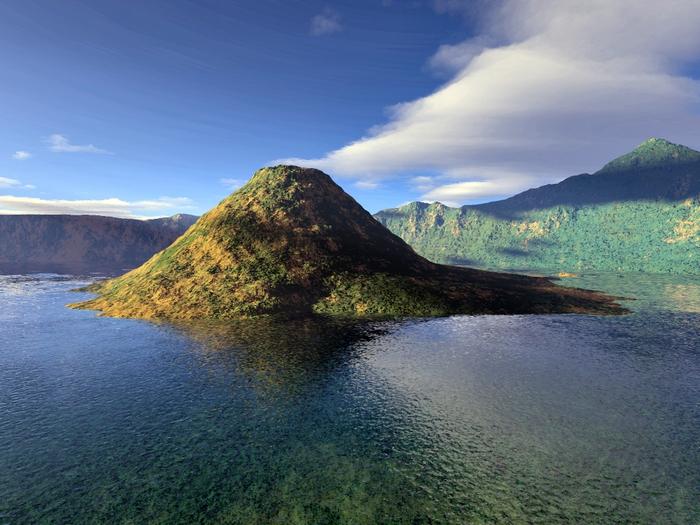 озеро крейтер Crater Lake фото 2 (700x525, 297Kb)