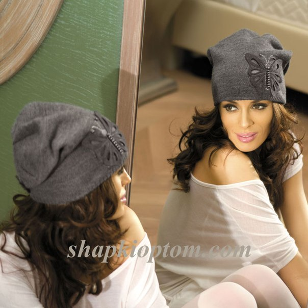 Украшаем вязаную шапку своими руками