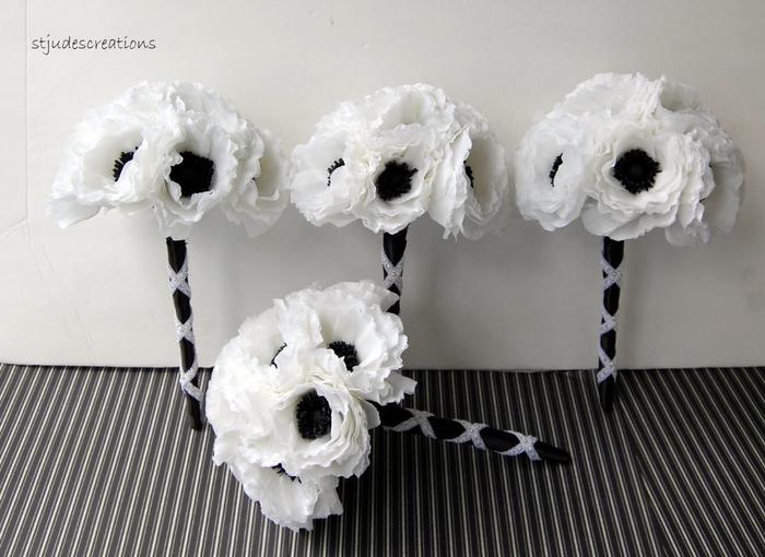 Гигантские цветы из гофрированной бумаги своими руками