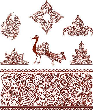 Трафареты для точечной росписи и не только ( много) Точечная роспись