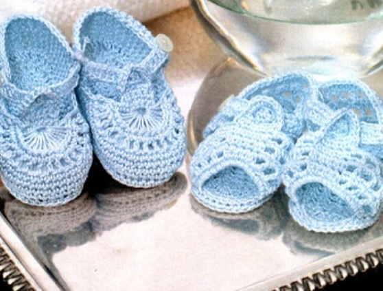 Как Связать Пинетки Туфельки Ботиночки Тапочки Для Самых Маленьких