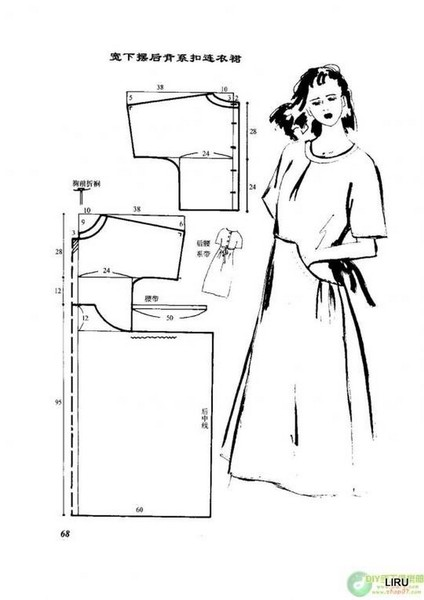 Летнее платье своими руками фото и выкройки